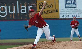 Lance Baxter pitching 2008