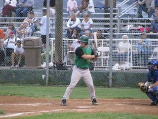 Mickey Wiswall batting 2008