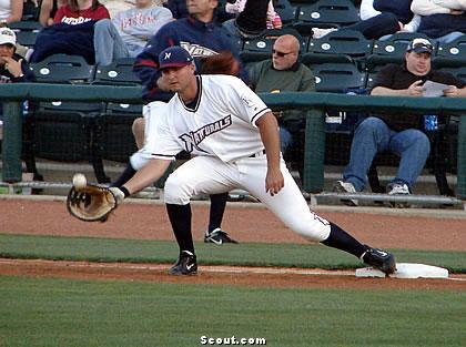 Clint Robinson 2010 NW Ark fielding